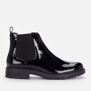 Clarks Women's Orinoco 2 Lane Patent Chelsea Boots - Black