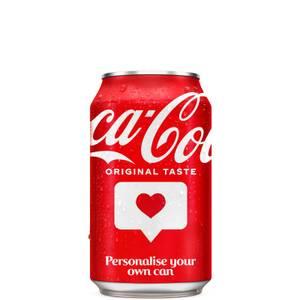 Coca-Cola Original Taste 330ml - Personalised Can - Champions