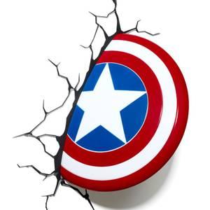 3D Marvel Captain America Light