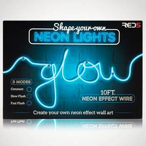 Shape Your Own Neon Lights (Battery Powered)