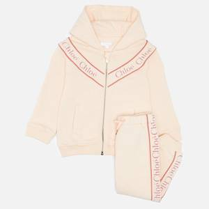 Chloé Girls' Tracksuit Set - Pale Pink