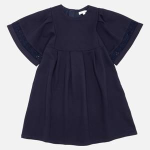 Chloé Girls' Smock Dress - Navy