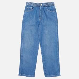 Chloé Girls' Denim Trousers - Denim Blue