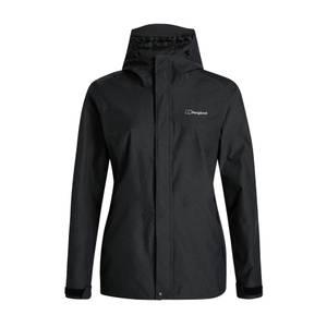 Women's Elara Waterproof Jacket - Black / Dark Grey