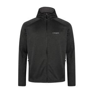 Men's Spitzer Hooded Interactive Fleece Jacket - Black