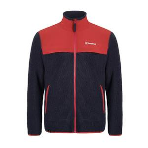 Men's Syker Fleece Jacket - Red / Blue