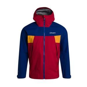 Men's Sky Hiker Waterproof Jacket - Red / Blue / Yellow