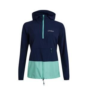 Women's Skerray Smock Jacket - Navy / Green