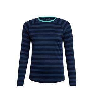 Women's Stripe Tech Tee 2.0 - Blue