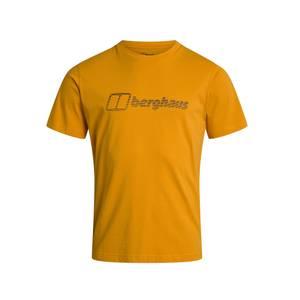 Men's Berghaus Modern Logo T-shirt - Yellow