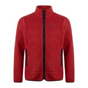 Men's Colshaw Fleece Jacket - Red/Blue