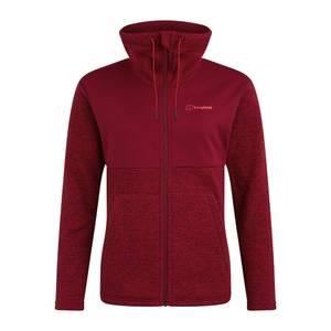 Women's Colca Fleece Jacket - Black / Red