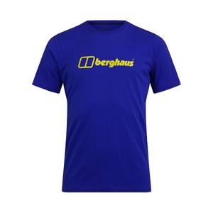 Men's Big Logo Short Sleeve T-Shirt - Purple