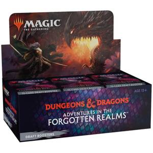 Magic: The Gathering - Adventures in the Forgotten Realms - 3 Booster Draft Pack