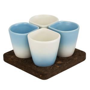 Dedal Copus Ceramic Cups - Sky Blue Gradient