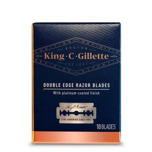 King C. Gillette Double Edge Razor Blades