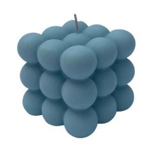 FOAM HOME Bubble Candle - Powder Blue