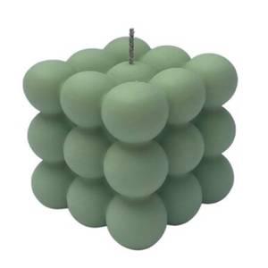 FOAM HOME Bubble Candle - Pistachio