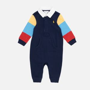 Polo Ralph Lauren Babys' One Piece Coverall Baby Grow - Newport Navy