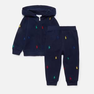 Polo Ralph Lauren Baby Hoodie And Leggings Set - Newport Navy
