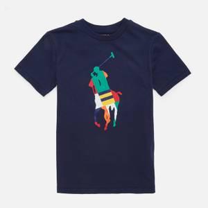 Polo Ralph Lauren Boys' Horse T-Shirt - Newport Navy