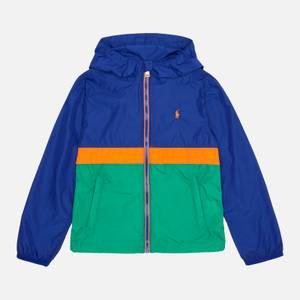 Polo Ralph Lauren Boys' Belport Windbreaker Jacket - Heritage Royal Multi