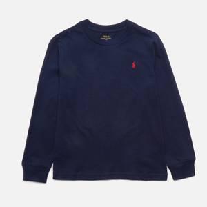 Polo Ralph Lauren Boys' Long Sleeved T-Shirt - Cruise Navy