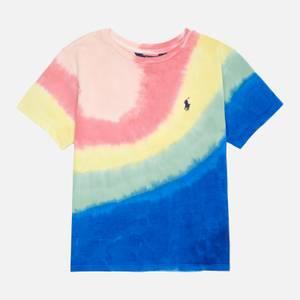 Polo Ralph Lauren Girls' Short Sleeved Tie Dye T-Shirt - Tie Dye