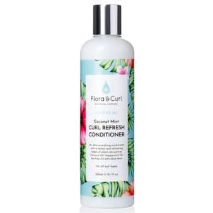 Flora & Curl Coconut Mint Curl Refresh Conditioner 300ml