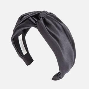 Jennifer Behr Women's's Twist Headband In Satin - Black