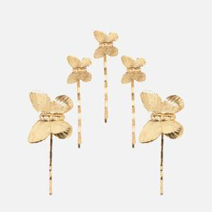 Jennifer Behr Women's Pippa Butterfly Bobby Pin Set - Gold
