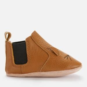 Liewood Kids' Edith Leather Slipper Shoes - Cat Golden Caramel