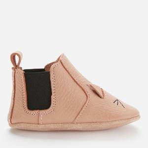 Liewood Kids' Edith Leather Slipper Shoes - Cat Rose