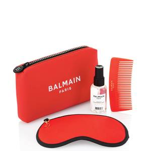 Balmain Limited Edition Cosmetic Bag - Red