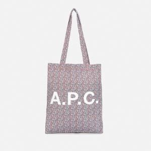 A.P.C. Women's Lou Tote Bag - Red