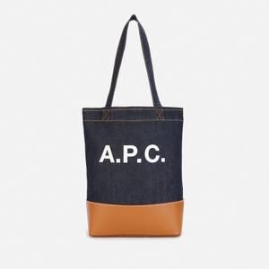 A.P.C. Women's Axel Small Tote Bag - Caramel