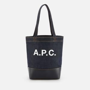 A.P.C. Women's Axel Small Tote Bag - Dark Navy