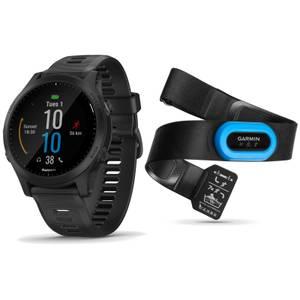 Garmin Forerunner 945 GPS Multisport Watch/HRM-Tri Heart Rate Monitor Bundle
