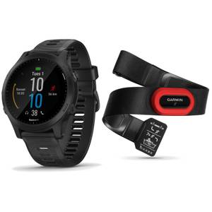 Garmin Forerunner 945 GPS Multisport Watch/HRM-Run 4 Heart Rate Monitor