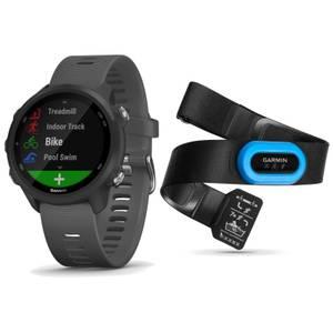 Garmin Forerunner 245 Running Watch/HRM-Tri Heart Rate Monitor Bundle