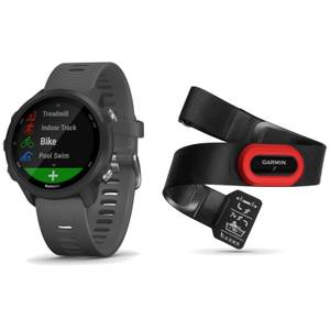 Garmin Forerunner 245 Running Watch/HRM-Run 4 Heart Rate Monitor Bundle