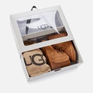 UGG Babys' Neumel And Beanie Gift Set - Chestnut