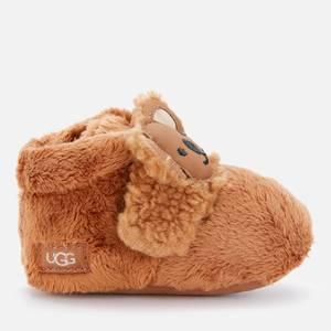 UGG Babys' Bixbee Koala Stuffie Booties - Chestnut