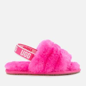 UGG Toddlers' Fluff Yeah Slide Slippers - Rose