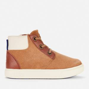 UGG Toddlers' JAYES High Top Sneakers- Chestnut
