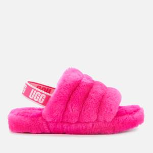 UGG Kids' Fluff Yeah Slide Slippers - Rose