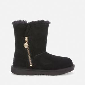 UGG Kids' Bailey Zip Short Boots - Black