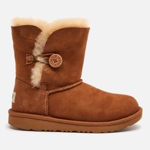 UGG Kids' Bailey Button II Boots - Chestnut
