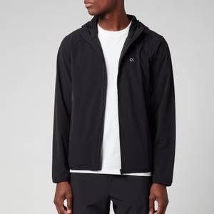 CK Performance Men's Light Wind Hooded Jacket - Black