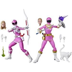 Hasbro Power Rangers Lightning Collection Pink Ranger 2-pack Kat Hillard 6-Inch Premium Collectible Action Figure Toys